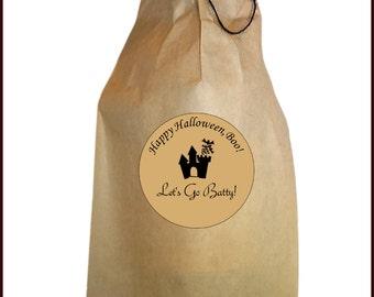 Halloween Wine Bag, Halloween Gift Bag, Halloween Wrapping Paper, Halloween Wine Bottle Bag, Gift Bag, Wine Bottle Gift Bag, Party Favors