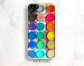 Watercolor Set iPhone 6S Case, iPhone 6 Case, iPhone 5C Case, Watercolors iPhone 5S Case, Watercolors Set iPhone 6 Plus, iPhone SE Case