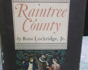 75% OFF!!! Vintage, Raintree County Book, A Novel, Civil War, Ross Lockridge Jr.,T