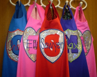SuperHero Cape and Mask - Personalized just for your Hero