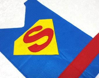 Adult / Big Kid Superman Costume Tunic (Super Hero)