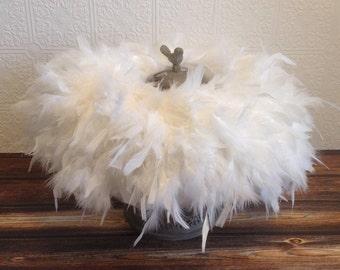 Choose Your Color || Feather Tutu || Short & Sweet Style || baby girl feather tutu || birthday tutu || girl feather tutu skirt || nb-3T