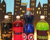 Super Hero Party Table Decor (Printables)
