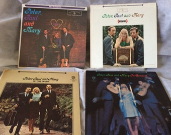 Peter Paul and Mary vinyl