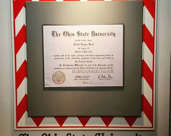 diploma frame personalized diploma display custom certificate frame graduation college diploma high school diploma 24x24
