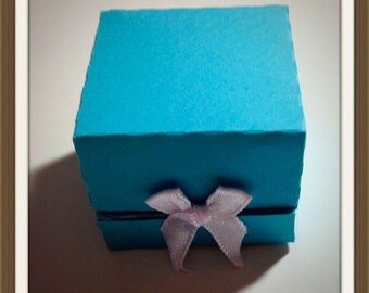 Wedding Rings Favor Box