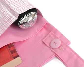 Pink Bunk Bed Bag, Bunk Bed Organizer,  Girls Bunk Bed Tidy