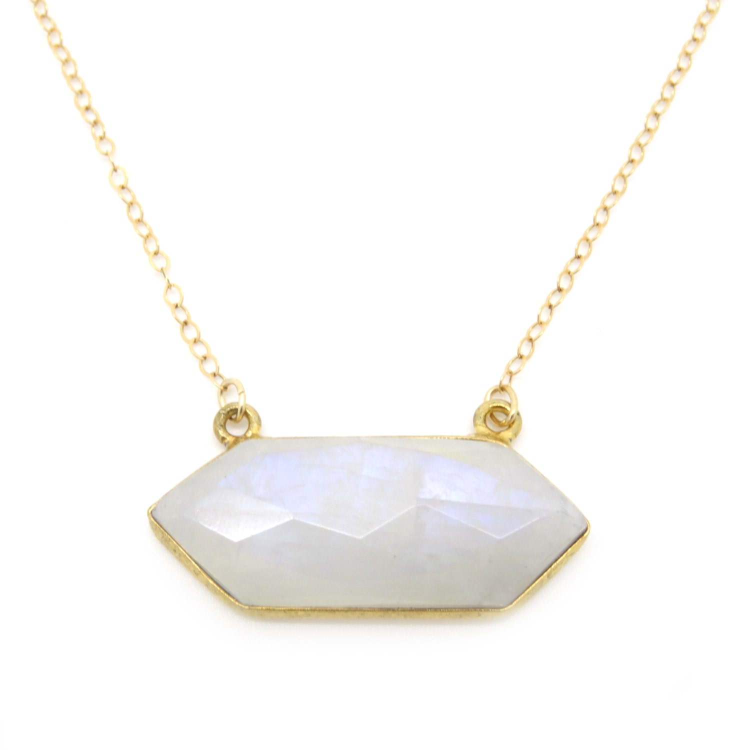 Moonstone Necklaces: Moonstone Gold Necklace Moonstone Necklace Moonstone