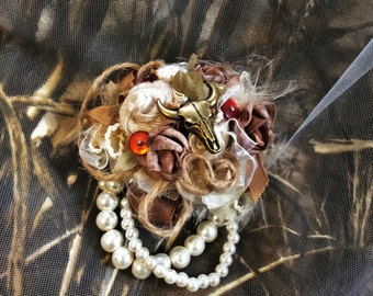 Rustic Wedding Corsage-Country Wedding-Flower Corsage-Country Western-Wrist Corsage-Brides Corsage-Bridesmaid's Corsage-Mother of the Bride