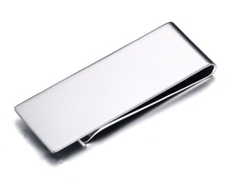 Stainless Steel Money Clip Groomsman Gifts