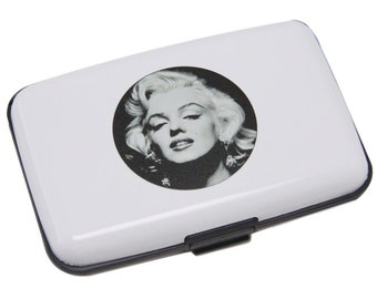 Aluma Wallet Credit Card Holder With Marilyn Monroe