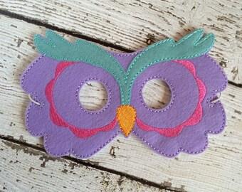 Owl Mask, Woodland Mask