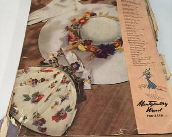 Montgomery Ward, 1939, Spring Catalog, Great Condition