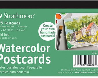 Strathmore Watercolor Postcards, Set of 15