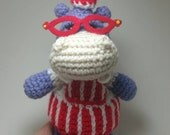 Custom Crochet Amigurumi Hallie Hippo for Rebekahj716 ONLY