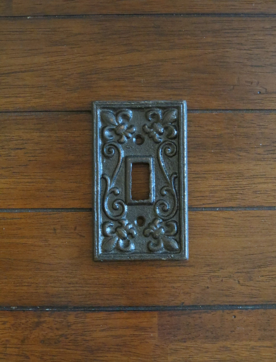 Oil Rubbed Bronze Light Switch Cover Or Pick Your Color Light