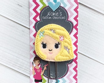 Princess Paper Clip - Rapunzel Paper Clip - Planner Paper Clip - Planner Accessories- Planner Accessory - Planner Clips