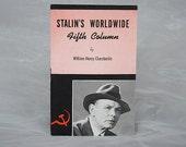 Stalin's Worldwide Fifth Column - Anti Communist Political Propaganda Cold War Book Spies Catholic Pamphlet - Catholic Information Society