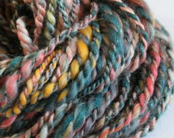 Barcelona - Handspun Art Yarn Merino wool - 1.5oz/38yards/Bulky weight