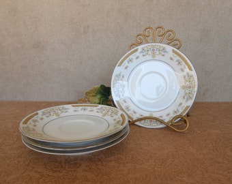 Vintage Saucers-Coronet-Signature Collection 117-Fine China