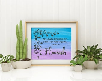 Flourish Member Exclusive Design #2 - Print edition