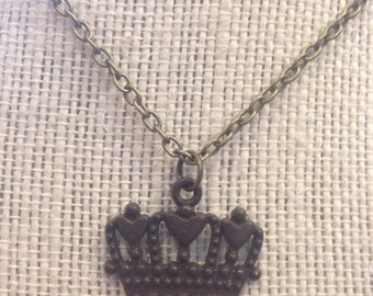 """24"""" Chocolate Crown Necklace"""