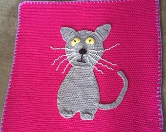 Child's Cat Blanket