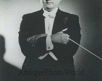 Hiroyuki Iwaki Japan conductor vintage music photo