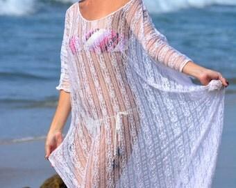 White Lace Bridal Nightgown Wedding Lingerie Sleepwear Honeymoon