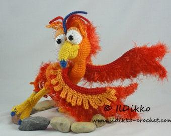 Amigurumi Crochet Pattern - Felix the Phoenix