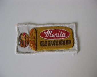 Original MERITA BREAD Uniform Patch - Orlando, Florida Based