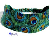Peacock Headband for Ladies, Made to Order