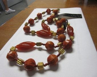 Hattie Carnegie Lucite Necklace