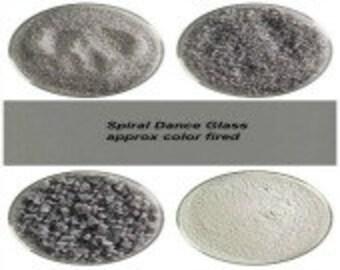 Bullseye COE 90 Deco Gray Opal Kiln Fusing Glass Frit~ 2oz  Choice  Fusing Supplies