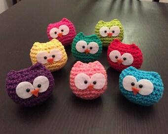 Amigurimi cute little Crochet Owl Amigurumi