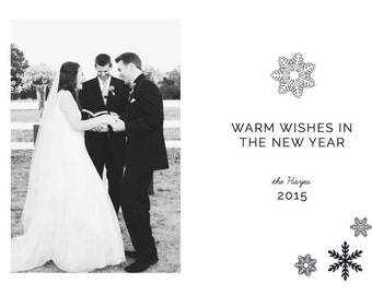 New Years Holiday Card