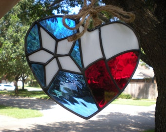 Heart of Texas- Suncatcher