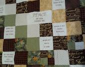 Comfort/Encouragement quilt...Cover me