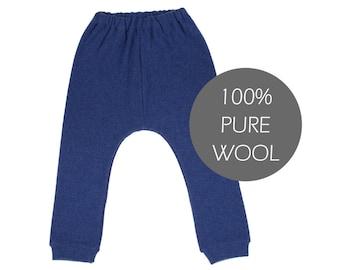 Wool children pants - wool children leggings - wool children trousers