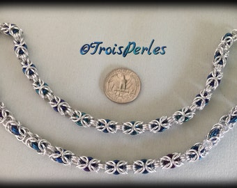 04 Chain Maille necklace - Chainmaille necklace