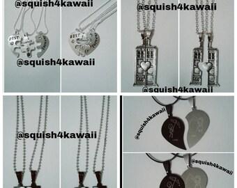 Couple or Best Friend Necklaces