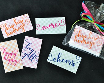 Every Occasion Personalized Gift Tag Sticker