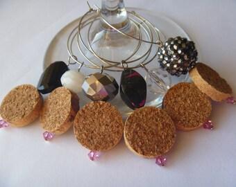 Cork Wine Charms