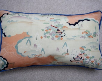 Vintage Kimono Silk Cushion (12'x20')