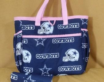 Cowboy Diaper Tote