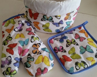 Butterfly collection / OVEN GLOVES