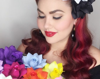 Sassy Rosie- a pinup's go to single rose
