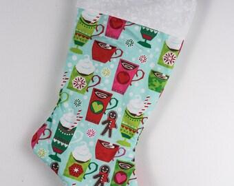 Hot Chocolate Christmas stocking