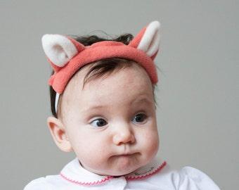 Fox Headband, Baby Fox Headband, Photo Prop
