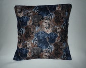 Decorative Pillow Cover, Throw Pillow Cover, Single, 18 x 18, Labrador Pillow, Black Lab, Chocolate Lab, Yellow Lab, Hunting Dogs, Show Dogs
